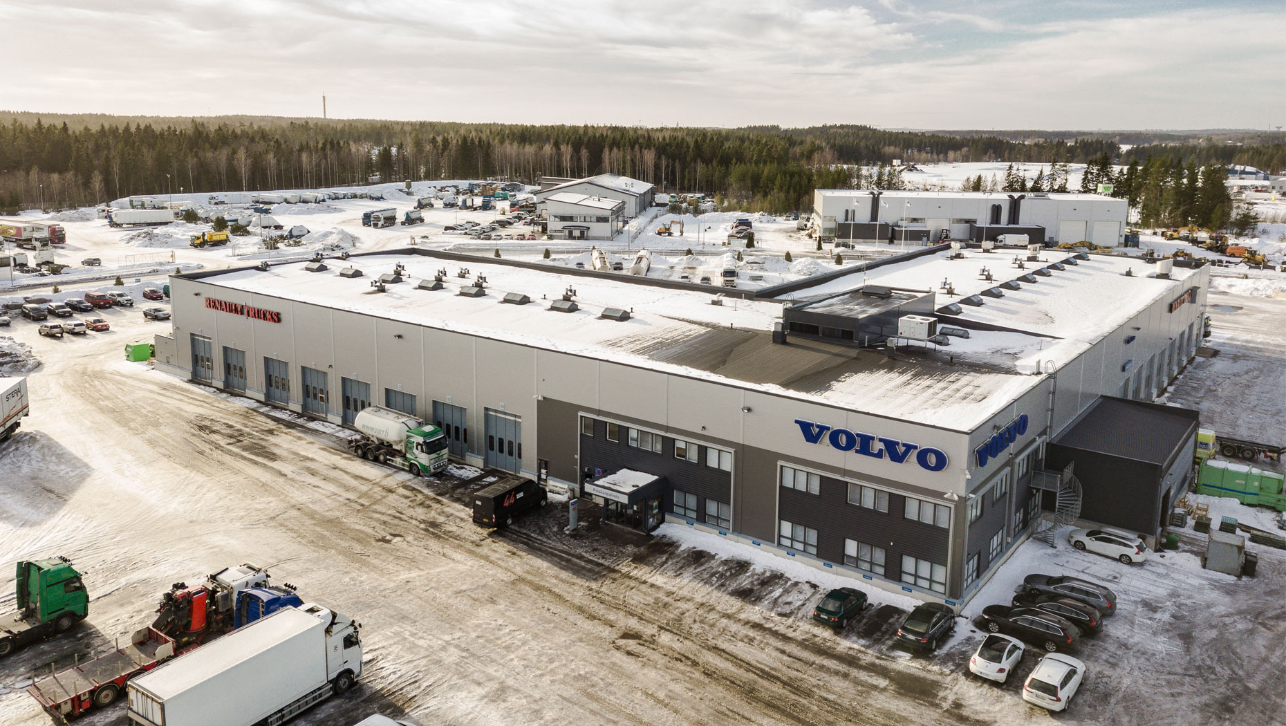 Volvo Truck Center Turku
