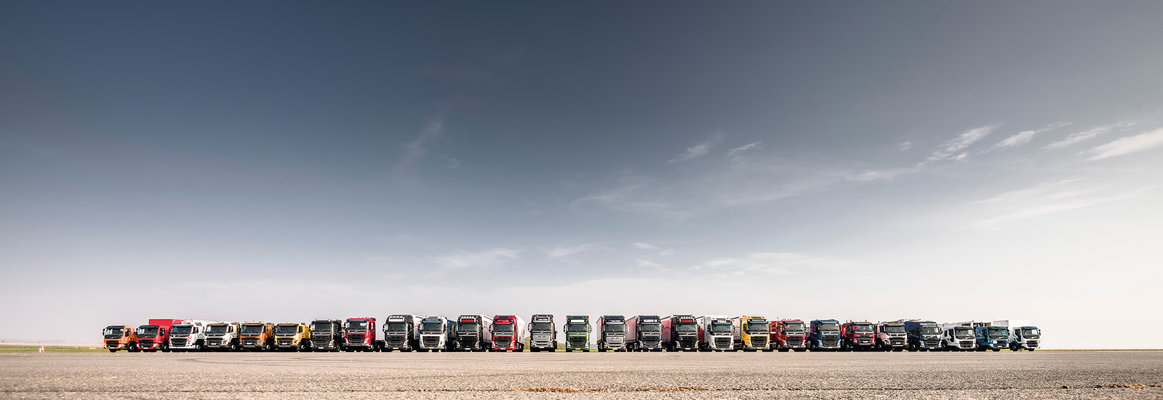 Volvo trucks dealer used truck row